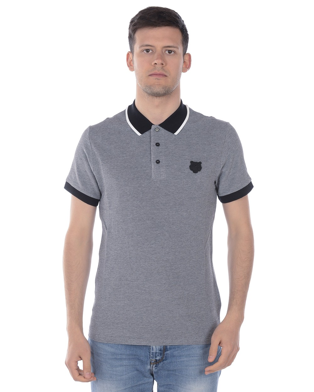 KENZO POLO FITTED TIGER POLO SHIRT 4BB5PO042