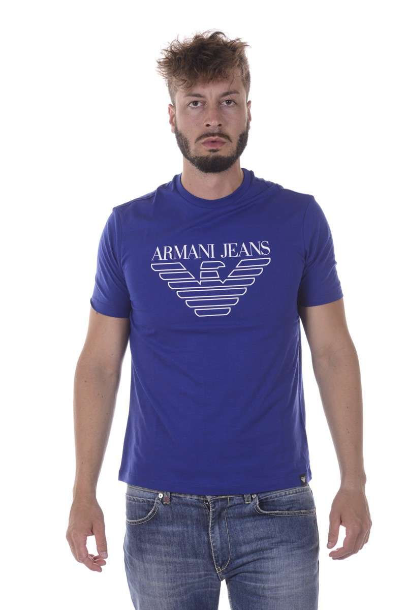 ARMANI JEANS AJ T-SHIRT MADE IN MAURITIUS 6Y6T156J00Z