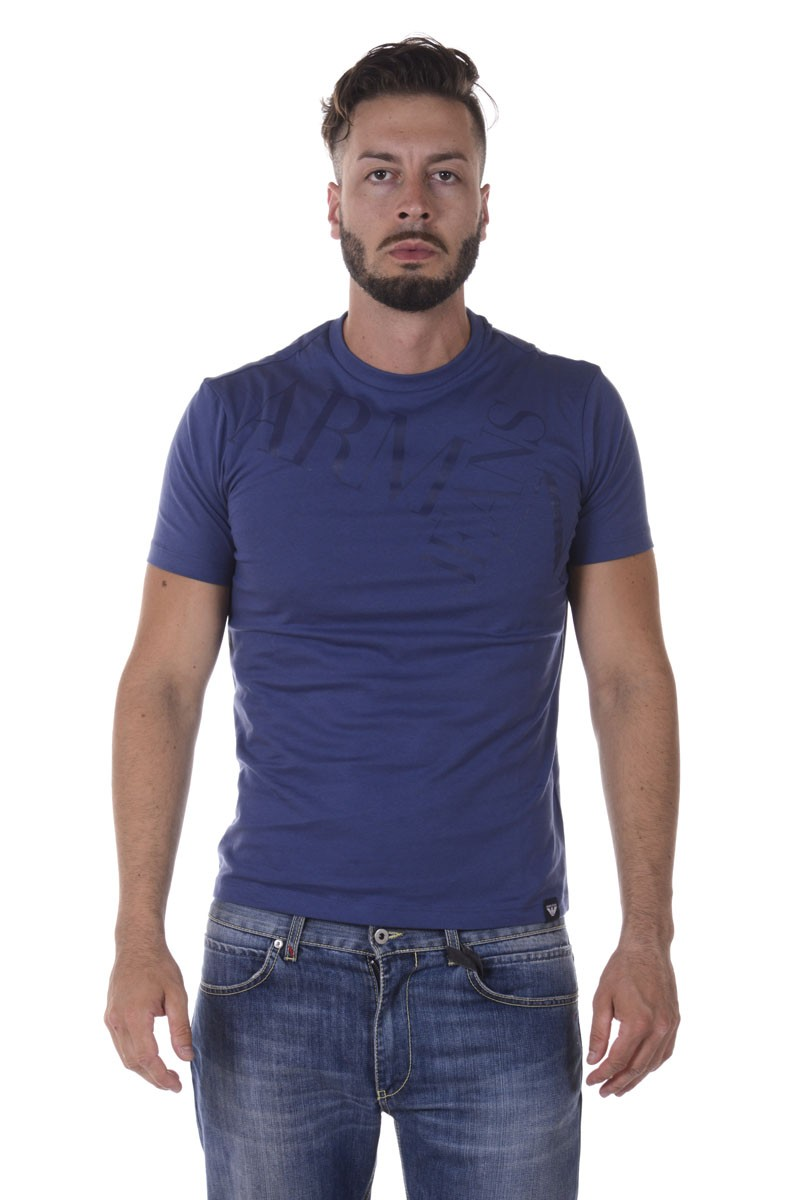 ARMANI JEANS AJ T-SHIRT MADE IN MAURITIUS 6Y6T146J00Z