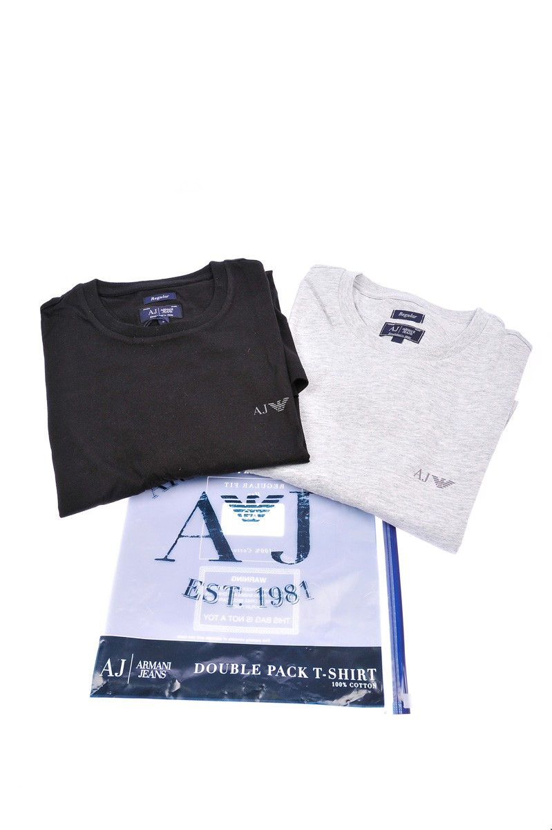 ARMANI JEANS AJ 2 T-SHIRT MADE IN CAMBODIA 6801