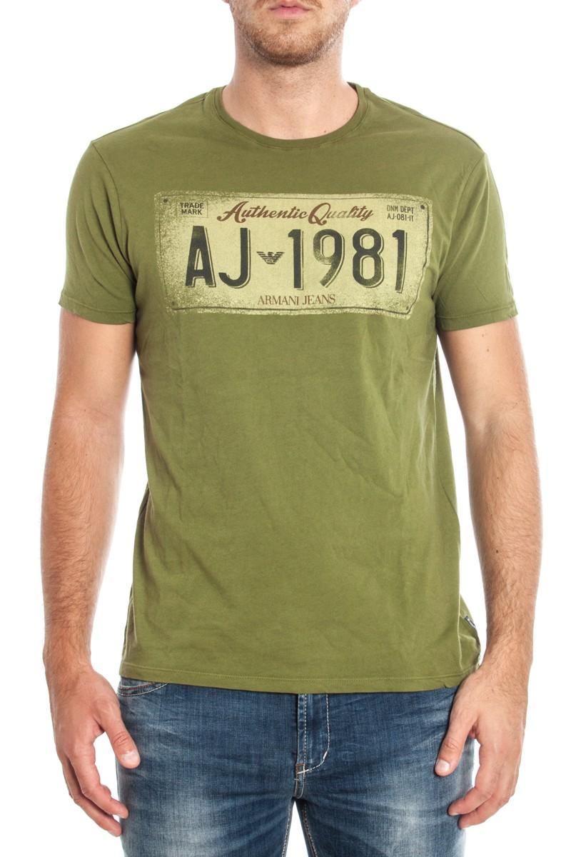 ARMANI JEANS AJ T-SHIRT A6H16MT