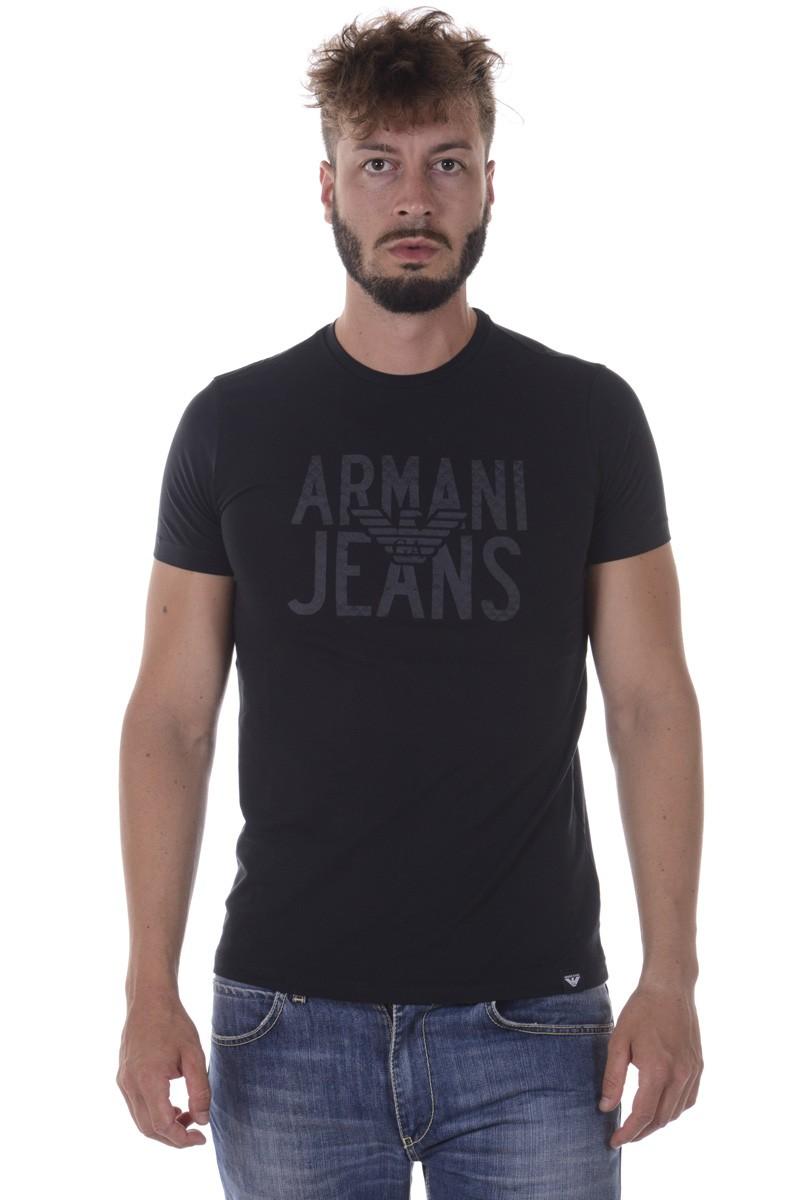 ARMANI JEANS AJ T-SHIRT MADE IN MAURITIUS 6Y6T106J0AZ