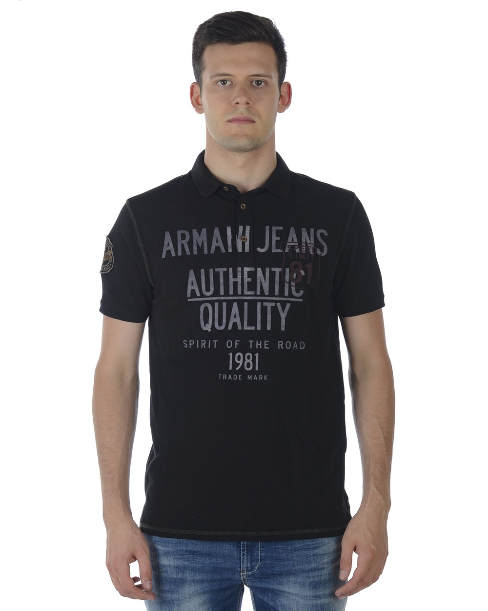 ARMANI JEANS AJ POLO MADE IN TURKEY SA6M14MG